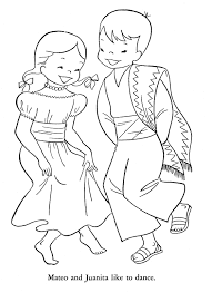 mexican coloring pages chuckbutt com