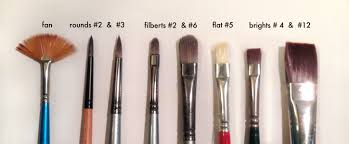 fan brush oil painting oil paint brushes how to choose use the best brushes