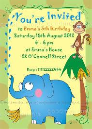 children birthday invitation cards images invitation design ideas