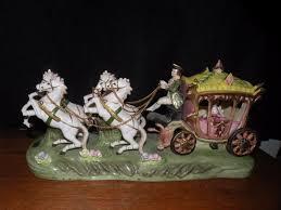 cinderella coach andrea by sadek large carriage and horses cinderella coach porcelain f