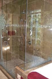 plm tree gls shr enclosures etched glass tropical decor