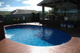 above ground pool decks image the beauty of above ground pool
