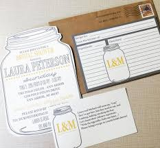 gift card bridal shower jar bridal shower invitations and recipe cards bridal