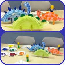 dinossaurs story time craft for preschool kids adorable art
