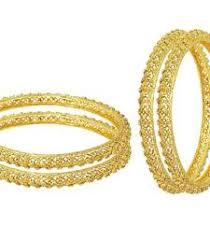 Buy Designer Gold Plated Golden Buy Designer Gold Plated Golden Bangles Fashion Jewellery For