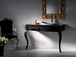 artelinea sapphire spaces black vanity by artelinea italian