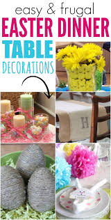 table decorations for easter easter dinner table decorations one