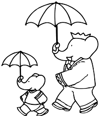 babar 2 babar coloring pages coloring for kids