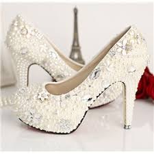 pearl wedding shoes cheap wedding shoes white lace wedding shoes for