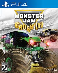 monster truck game video amazon com monster jam ps4 playstation 4 video games