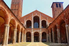 Milan Cathedral Floor Plan by Milan Journey Around The Globe