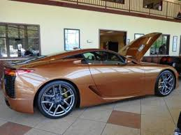 photo image gallery u0026 touchup paint lexus lfa in pearl brown 4v2