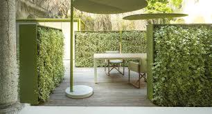 painted metal trellis greenery paola lenti