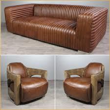 canapé cuir et bois canapé cuir bois commentaires canapé 3 places cuir marron clair
