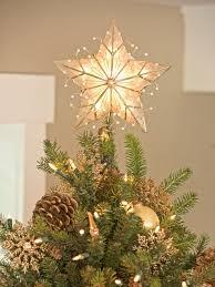 árbol capiz estrella de navidad topper navidad