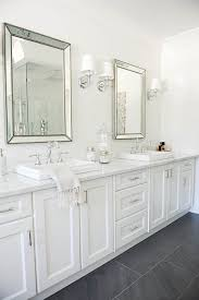 Gray And White Bathroom - best 25 dark floor bathroom ideas on pinterest bathrooms