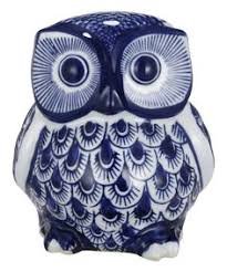 another great find on zulily distressed white owl figurine