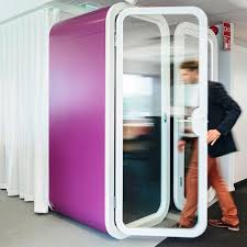 Phone Booth Bookcase Open Plan Area Phone Booth Framery O Martela