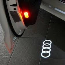 2 custom wireless car led light logo my swiftly car