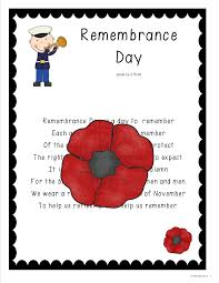 grade one snapshots remembrance day
