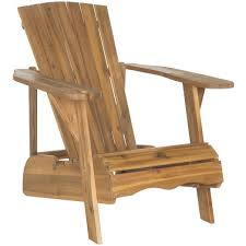 Adirondack Chair Acacia Wood Outdoor Adirondack Chair West Elm