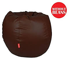 orka xl bean bag cover brown without beans amazon in home