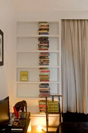 Simple Wooden Bookshelf Plans by Decoration Ideas Good Looking White Lacquer Freestanding Six