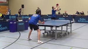 Bad Hamm 2 Bundesliga Table Tennis Warm Up Hermann Muehlbach Henning