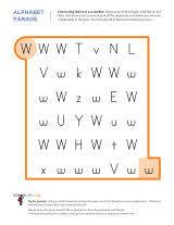 letter w worksheets sparks