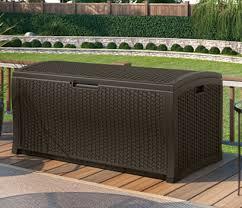 Suncast Patio Storage Bench Home Page Suncast Corporation