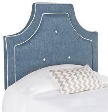 blue twin headboard upholstered headboards safavieh