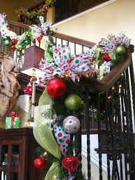 Banister Decorations For Christmas Beautiful Christmas Decorations That Turn Your Staircase Into A
