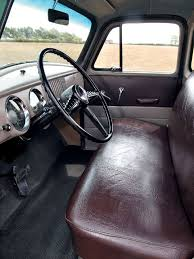 Nicest Truck Interior 1954 Chevy Truck Interior View Brown Bench Seat Who U0027s Got A