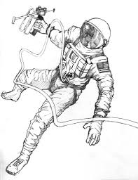 astronaut coloring pages ngbasic com