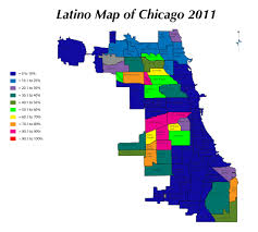 Chicago Map Of Neighborhoods by No Se Vende Chicago And Its Displaced Latinos Immigrant Connect