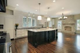 kitchen fireplace ideas white fireplace added by black wooden kitchen islands on