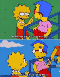 Millhouse Meme - the simpsons meme milhouse first day at school on bingememe