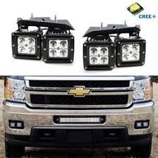 2001 chevy silverado fog lights silverado high power cree led bumper light work l