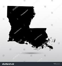 State Map Of Louisiana by Map Us State Louisiana Stock Vector 533920948 Shutterstock