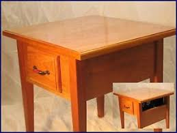 concealed gun furniture end table 2 hidden secret compartment box