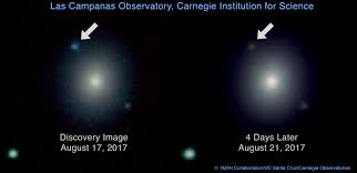 How Many Years Is A Light Year Astronomers Detect Gravitational Waves From Two Neutron Stars