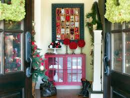 Hgtv Holiday Home Decorating Holiday Entryway Decorating Ideas Hgtv