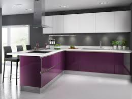 deco cuisine violet cuisine colorée violet cuisineplus pomysły do domu
