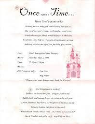Baby Shower Invited Template Printable Princess Baby Shower Invitations