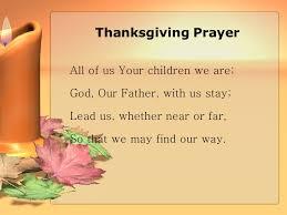 children s thanksgiving prayer festival collections