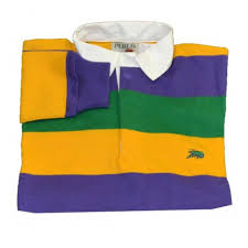 perlis mardi gras polo search results for purple gold crawfish rugby dress