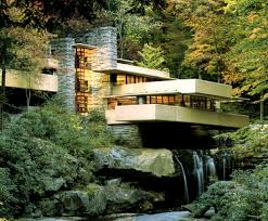 house built over waterfall frank lloyd wright i call it lovely