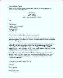 basic cover letter writing a professional cover letter first