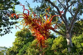 Dragonfly Garden Art Dragonfly Garden Chihuly Art At Fairchild Tropical Garden