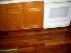 Wood Floor In Kitchen by Cabinets That Match Brazilian Cherry Floors Have Natural Wood